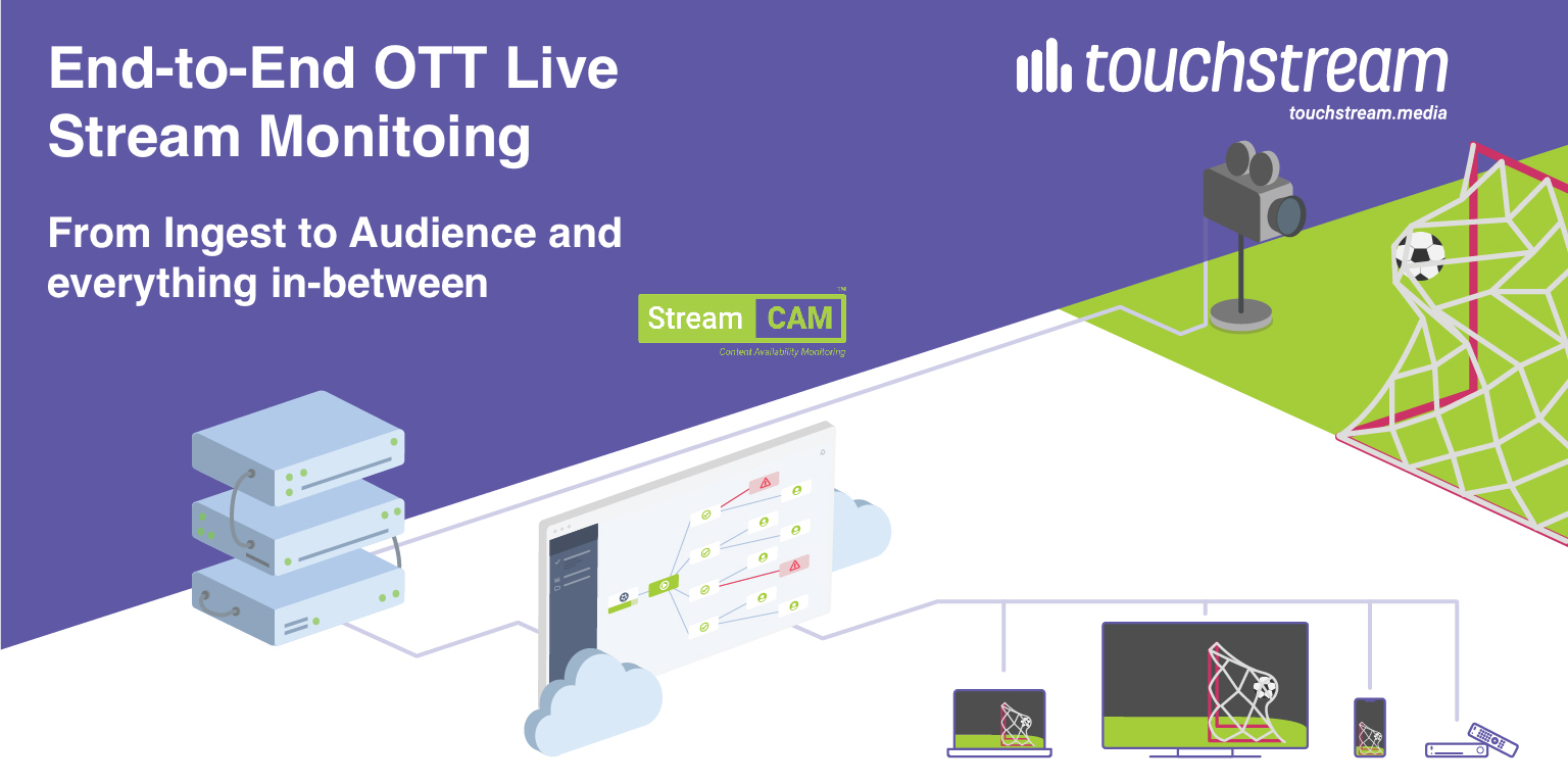 Upgrade Your OTT End-to-End Workflow Monitoring with the Next Version of StreamE2E